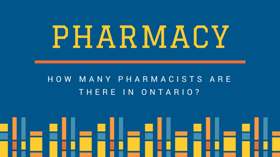 How many Pharmacists are there in Ontario? [Infographic]