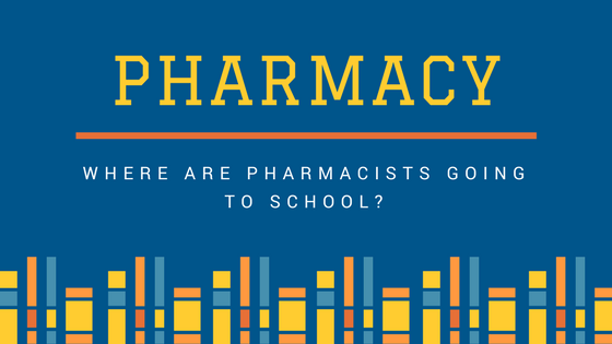 Where are Pharmacists going to school? [Infographic]