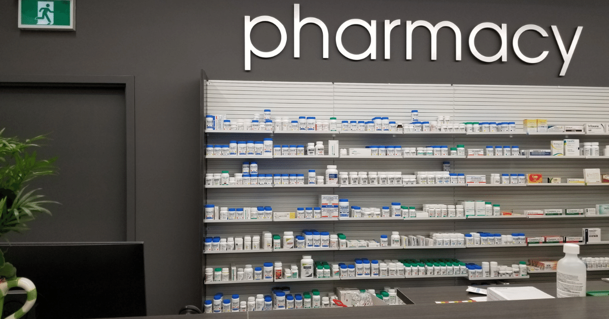 Pharmacy dispensary