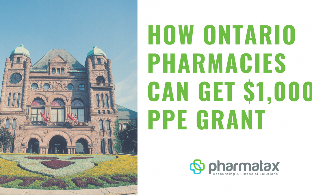 How Ontario Pharmacies Can Get $1,000 Grant To Help Cover PPE Costs